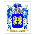 Salamans Small Poster