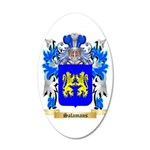 Salamans 20x12 Oval Wall Decal