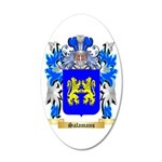 Salamans 35x21 Oval Wall Decal