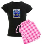 Salaman Women's Dark Pajamas