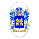 Salaman Sticker (Oval 50 pk)