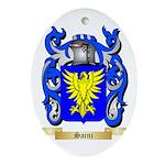 Sainz Oval Ornament