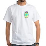 Saintsbury White T-Shirt