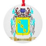 Saintsbury Round Ornament