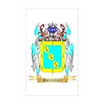 Saintsbury Sticker (Rectangle)
