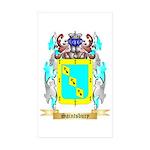 Saintsbury Sticker (Rectangle 10 pk)