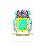 Saintsbury Sticker (Rectangle 50 pk)