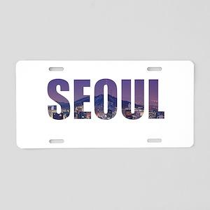 Seoul Aluminum License Plate