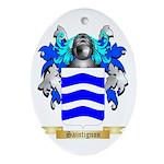 Saintignon Oval Ornament