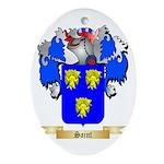 Saint Oval Ornament