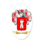 Saint Mieux Oval Car Magnet