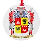 Saint Martin Round Ornament