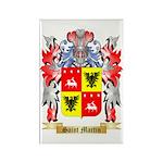 Saint Martin Rectangle Magnet (100 pack)