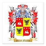 Saint Martin Square Car Magnet 3