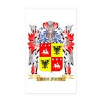 Saint Martin Sticker (Rectangle 50 pk)
