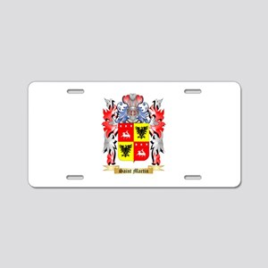 Saint Martin Aluminum License Plate