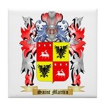 Saint Martin Tile Coaster
