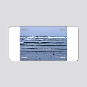 Stairway to the Sea Aluminum License Plate