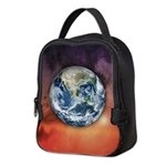 Planet Earth In Space Neoprene Lunch Bag