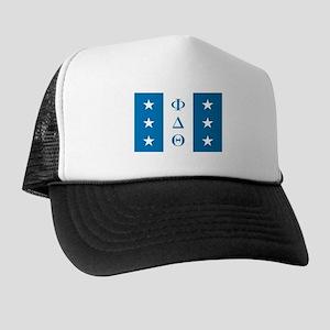 Phi Delta Theta Flag Trucker Hat
