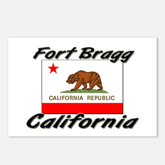 Fort Bragg California Postcards (Package of 8)