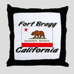Fort Bragg California Throw Pillow