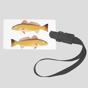 Redfish Red Drum Luggage Tag
