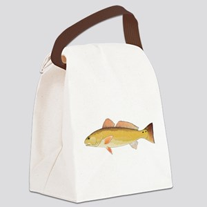 Redfish Red Drum Canvas Lunch Bag