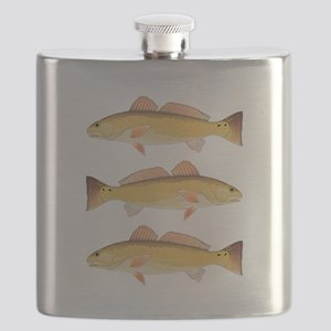 Redfish Red Drum Flask