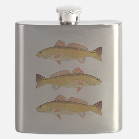 Redfish Red Drum Flask