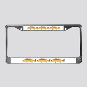 Redfish Red Drum License Plate Frame