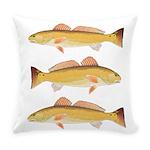 Redfish Red Drum Everyday Pillow