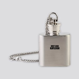 Just ask KAYLEIGH Flask Necklace
