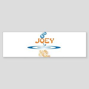 Joey (fish) Bumper Sticker