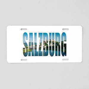 Salzburg Aluminum License Plate