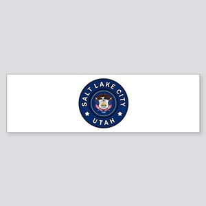 Salt Lake City Utah Bumper Sticker