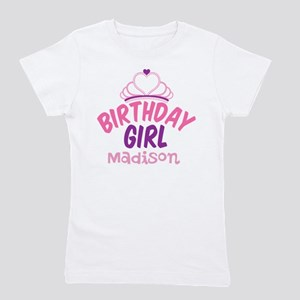 Birthday Princess Custom Girl's Tee