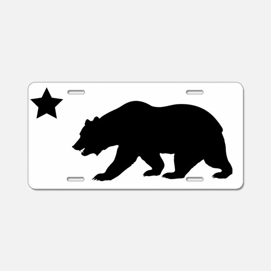 Cute Hollister ca Aluminum License Plate