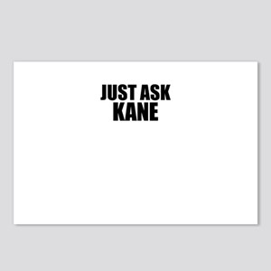 Just ask KANE Postcards (Package of 8)