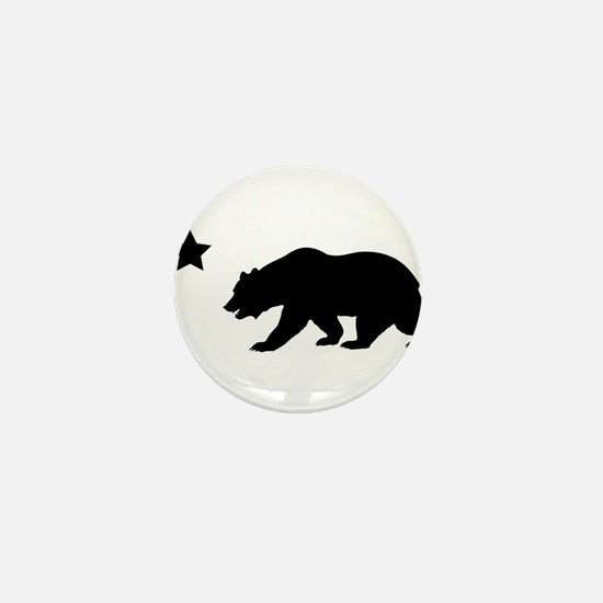 Unique California Mini Button