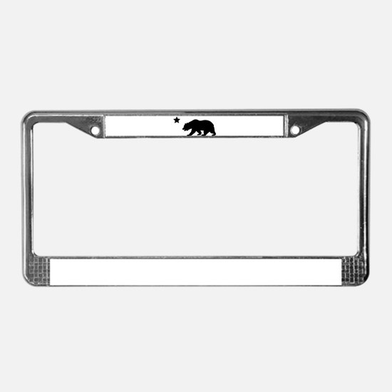 Cute Ca License Plate Frame