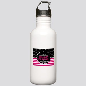 pink hillary clinton Stainless Water Bottle 1.0L