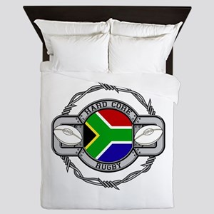 Hard Core South Africa Rugby Queen Duvet