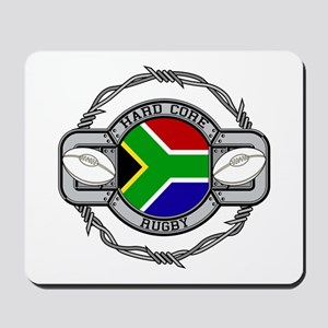 Hard Core South Africa Rugby Mousepad