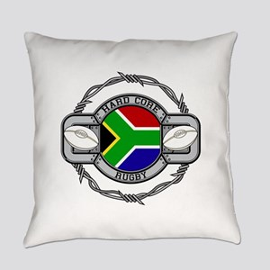 Hard Core South Africa Rugby Everyday Pillow