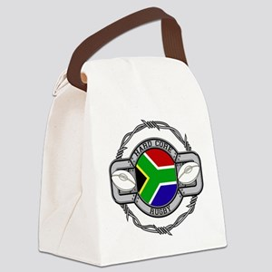 Hard Core South Africa Rugby Canvas Lunch Bag