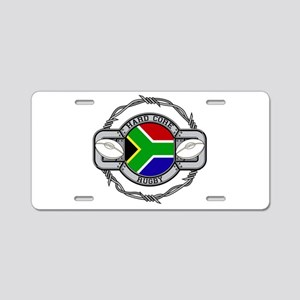 Hard Core South Africa Rugb Aluminum License Plate