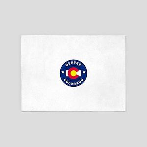 Denver Colorado 5'x7'Area Rug