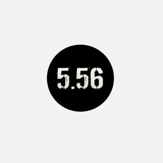 5.56 Ammo: Black Mini Button