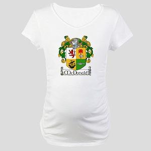 McDonald Coat of Arms Maternity T-Shirt